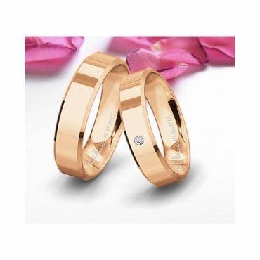 Δείγμα από βέρες γάμου σε ροζ χρυσό Προφίλ 8 της συλλογής Classic της Saint Maurice | Βέρες γάμου ροζ χρυσές Saint Maurice ΤΣΑΛΔΑΡΗΣ στο Χαλάνδρι  #SaintMaurice #ροζ #βερες #γαμου #χρυσος