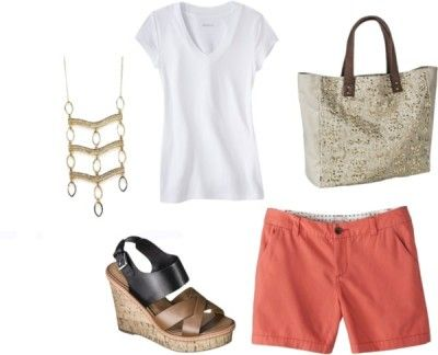 Outfit Ten - Fourteen piece, ten day summer vacation packing list with ten outfits and printable packing list!  http://getyourprettyon.com/ten-day-summer-vacation-packing-list/