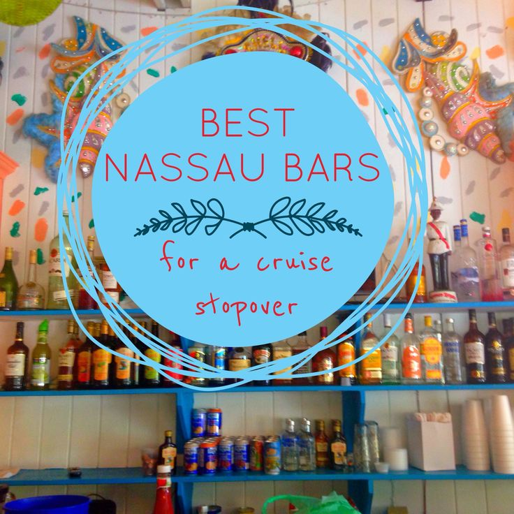 See my guide to the two best nassau bars for a cruise stopover, Bahama Rock Cafe and Fat Tuesday. Both have the best location and cheapest prices for a cruising tourist.