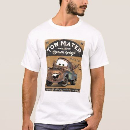 Cars' Tow Mater Disney T-Shirt - tap to personalize and get yours