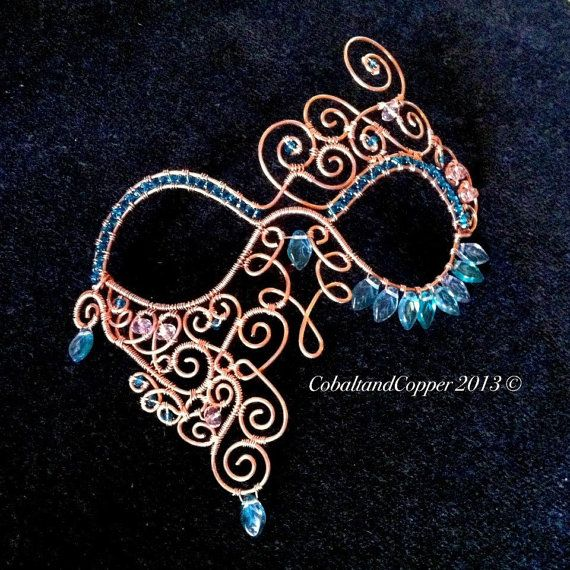 Hey, I found this really awesome Etsy listing at https://www.etsy.com/listing/129629462/masquerade-mask