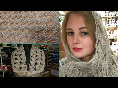 Scaldacollo all'uncinetto - Tutorial Punto con maglie intrecciate - How to crochet a cowl - YouTube