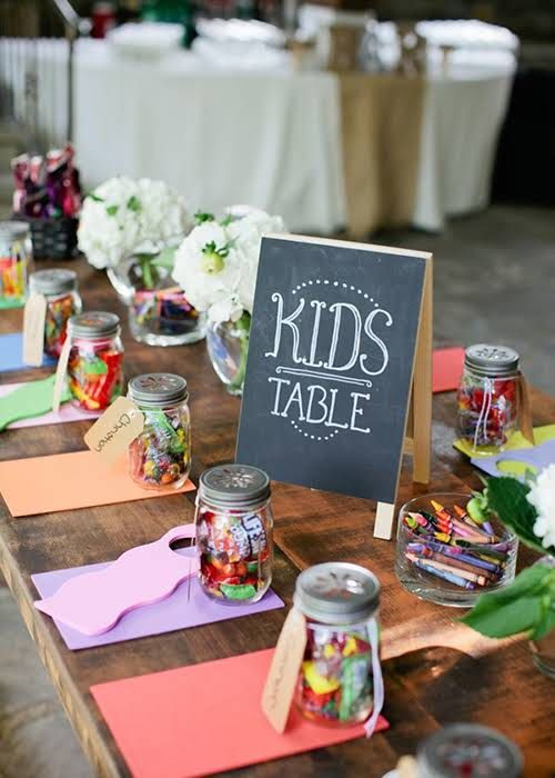 Should We Set Up Activities for Kids Who Will be at Our Reception?
