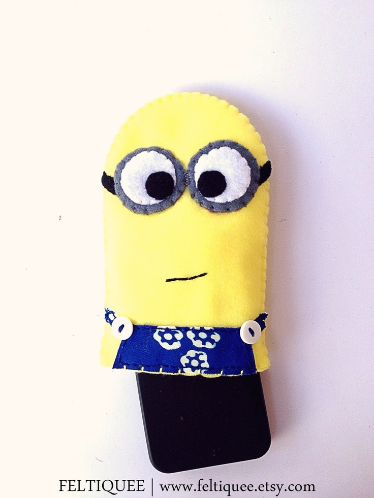 Minions at www.feltiquee.etsy.com