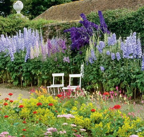 Best English Gardens Images On Pinterest Gardens Flowers - House garden with flowers