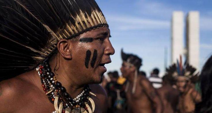 Em protesto pacífico, indígenas do ATL fazem nova Marcha na Esplanada - Xapuri