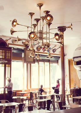 Design Salerno/ Illuminazione interni / Botti_Unique ceiling lamp