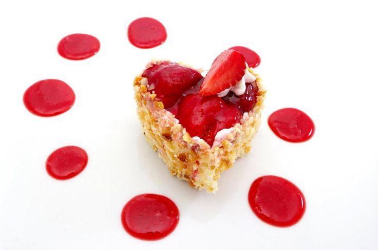 Jordbær ostekake  http://kakene.no