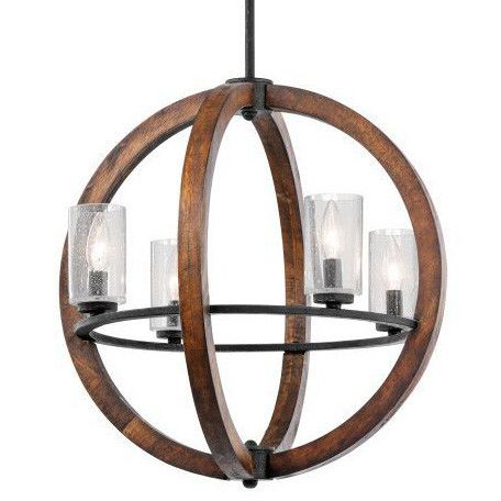 Orb Shaped Chandeliers Over Breakfast Tables Or In An Entry Are All The Rage