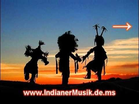 ▶ Indianer Musik mit Gesang und Trommeln - Indianischer Gesang - Indianische Ureinwohner Musik - YouTube