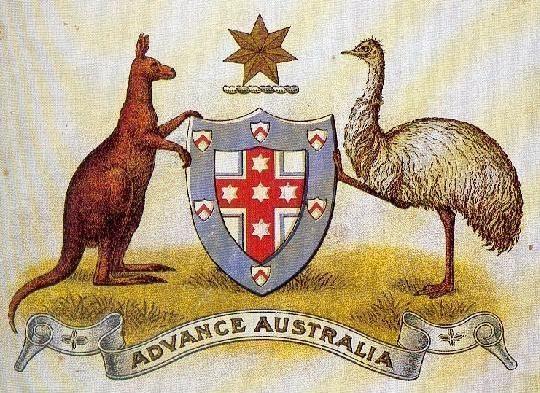 The Advance Australia Arms of 1908