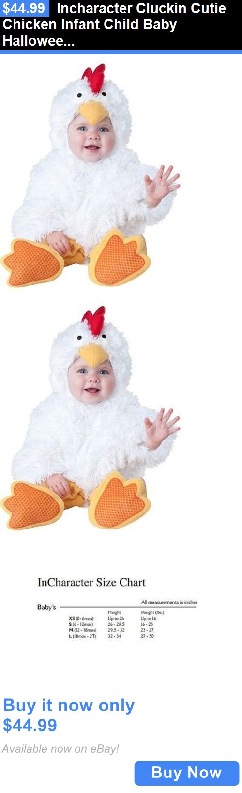Kids Costumes: Incharacter Cluckin Cutie Chicken Infant Child Baby Halloween Costume 6058 BUY IT NOW ONLY: $44.99
