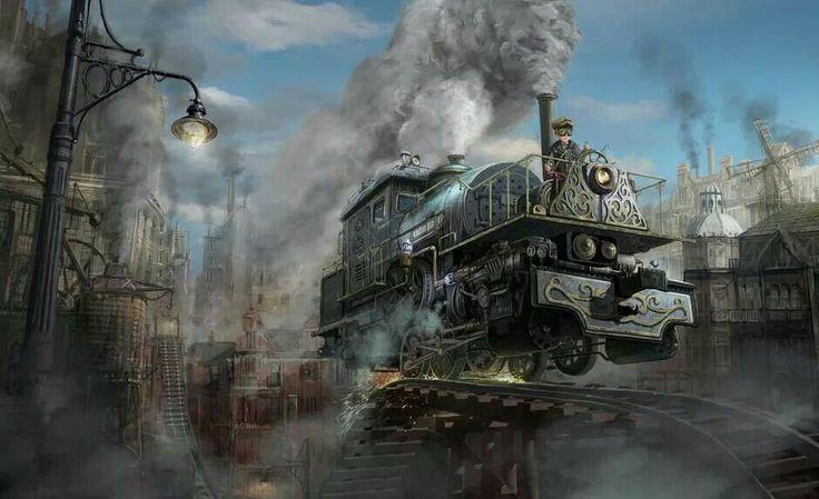 Steamtrainship