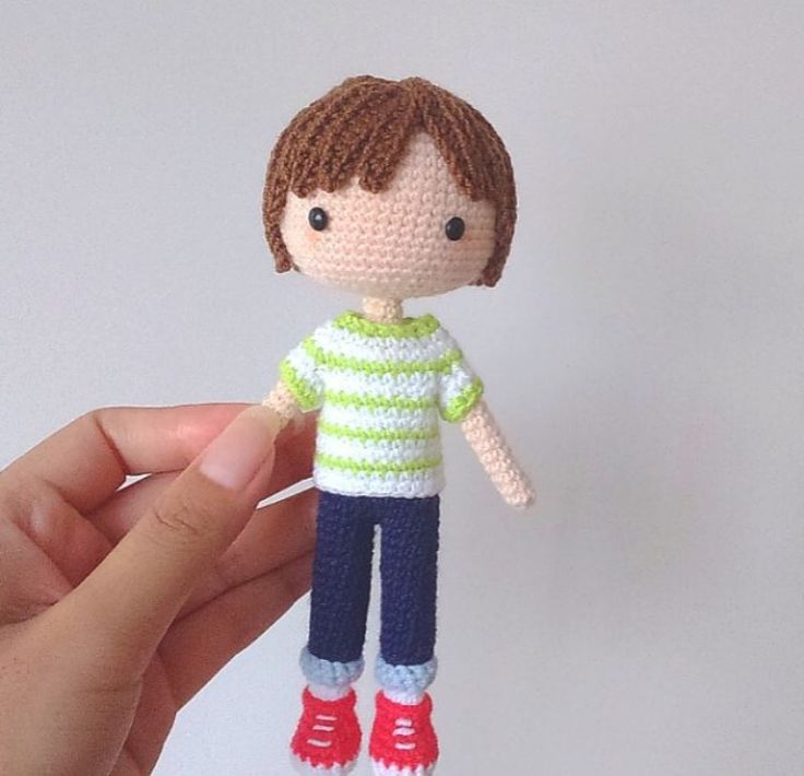 Amigurumi cute doll