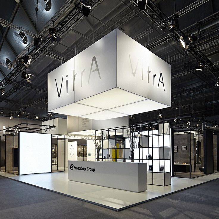 Simple Clean Elegant Great Trade Show Display Vitra