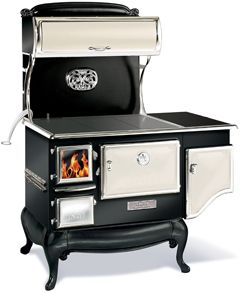 Fireview cookstoves Models: wood burning and dual fuel models