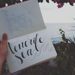 As this is one of my favourite Ed Sheeran songs, and we're actually at Tenerife.. I just HAD to do this! 🌴❤ gutted that we have to leave soon, but enjoying my birthday here so much! 😍 thank you all for your sweet messages! I really appreciate every single one of them! 😘😘 #handlettering #handwriting #handwritten #writingcommunity #writing #letteringcommunity #lettering #dutchlettering #fauxlligraphy #moderncalligraphy #calligraphy #letteringart #letteringfun #letteringaddict…