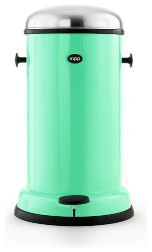 Vipp Copenhagen Green Trashcan Added To Ilist Apps