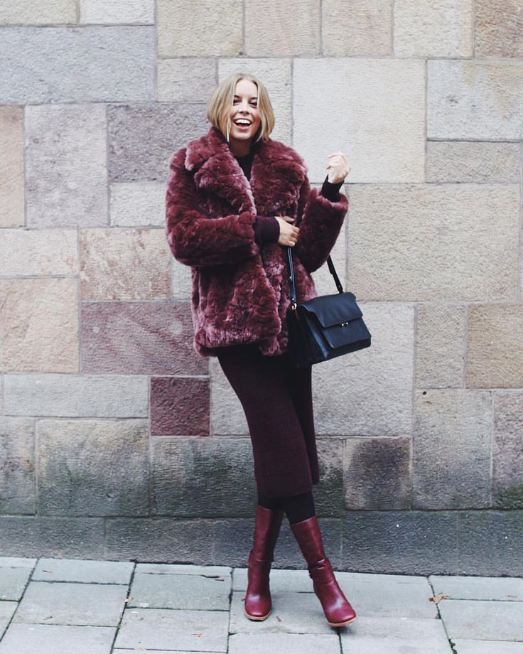 "Hanna Stefansson på Instagram: ""Kind of obvious what's on my mind today (). This @filippa_k faux fur is my new best friend✨ What's your #myfilippakwish ?"""