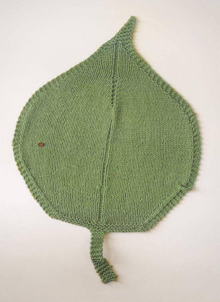 BLUE SKY FIBERS » Leaf Blanket