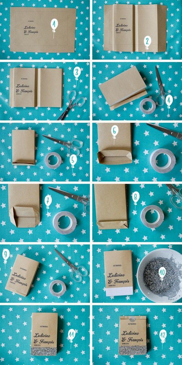 DIY – Sachets de papier kraft