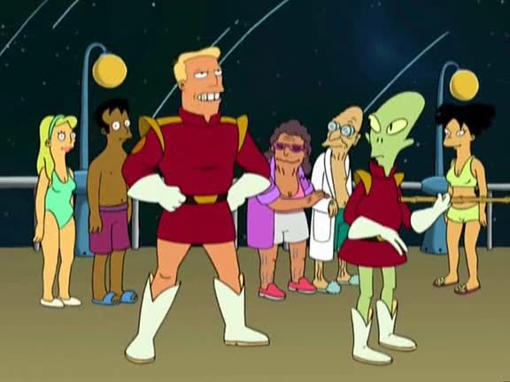 Futurama Season 1 Episode 10 A Flight to Remember