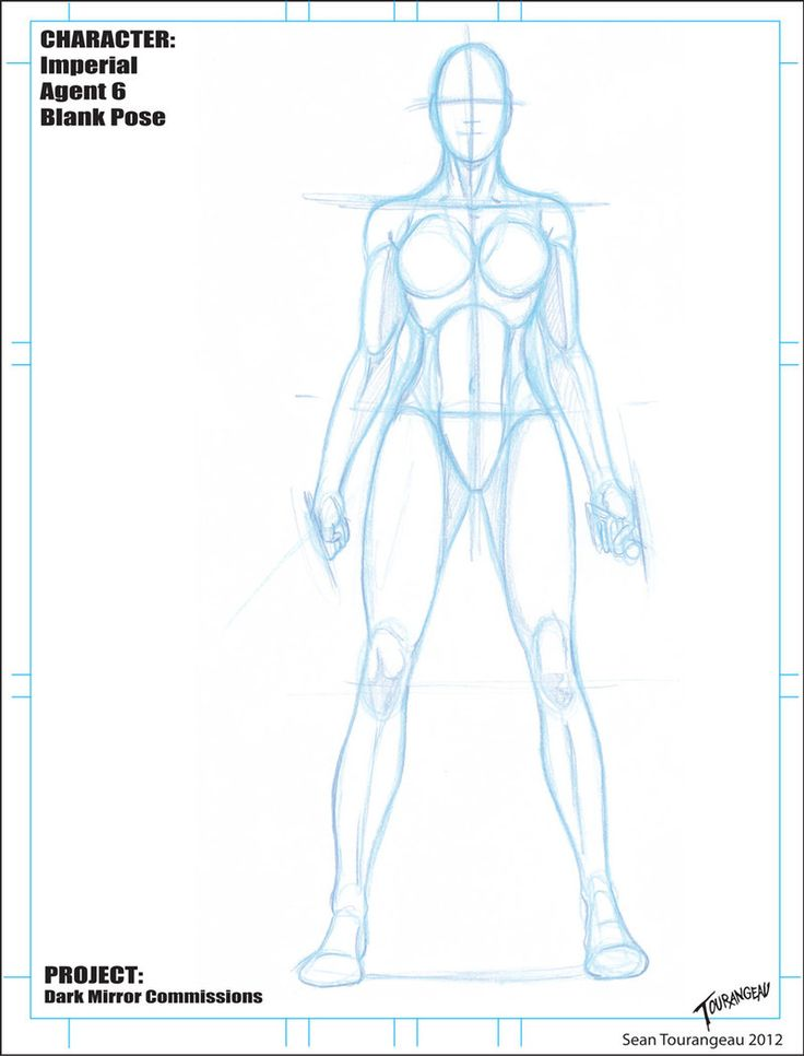 Imperial Agent 6 Blank Pose Sketch by stourangeau on deviantART