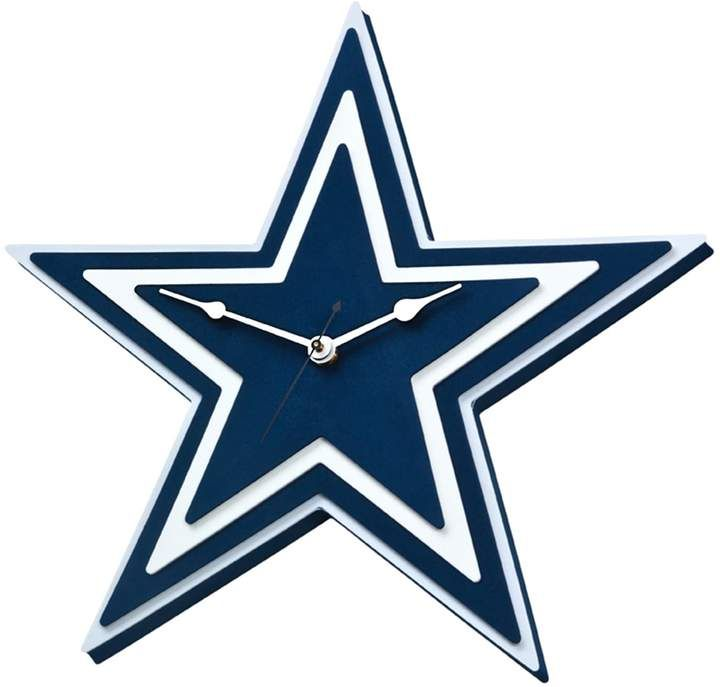 Dallas Cowboys 3D Foam Wall Clock (With Images)