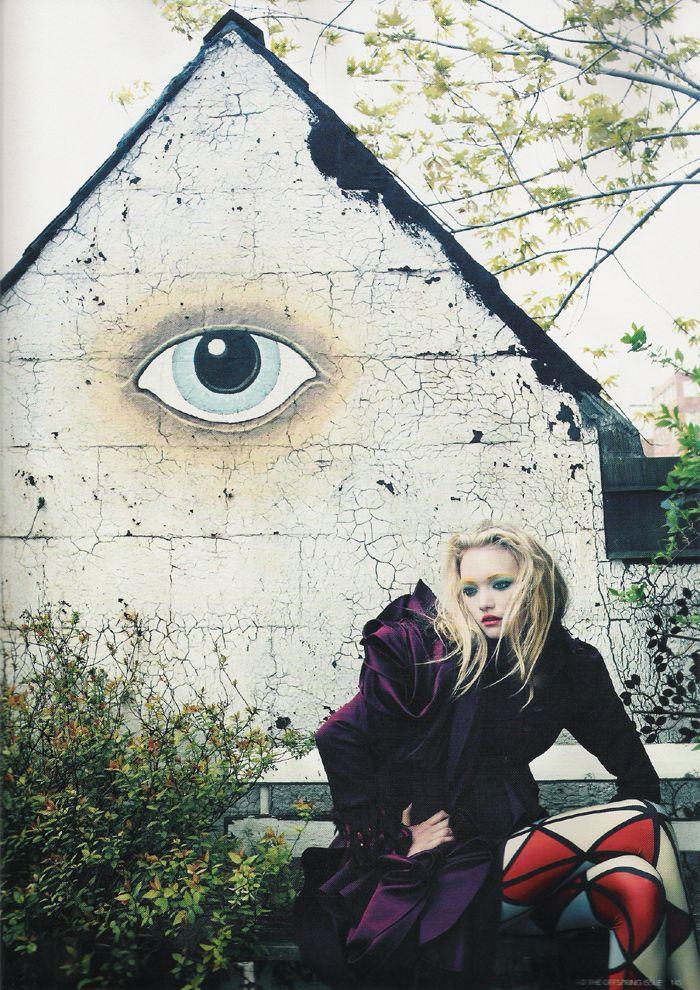 Gemma Ward by Emma Summerton