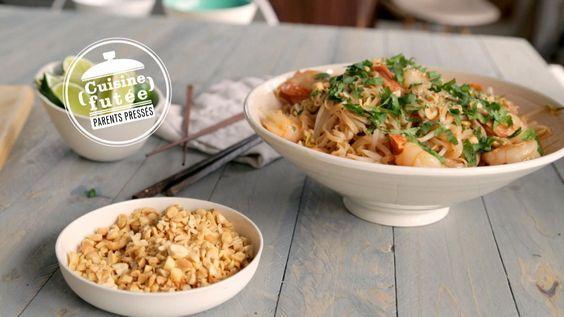 Pad thaï rapide - Cuisine futée, parents pressés