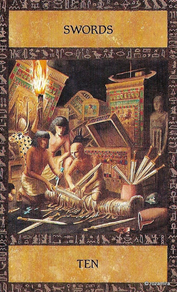 Egyptian Tarot Kit Deck Book Loscar: 37 Best The Ancient Egyptian Tarot Images On Pinterest