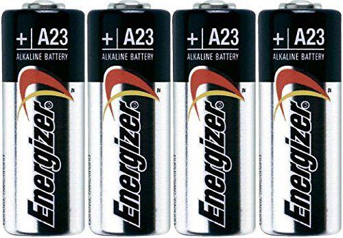 Energizer A23 Battery, 12V (Pack of 4)