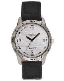 Trident Lyon watch - get the style of the French with this look. Find out more with http://mytrident.co.za/products/lyon-mens and then don't miss your chance at http://www.zando.co.za/Trident-Lyon-Watch-Black-120159.html