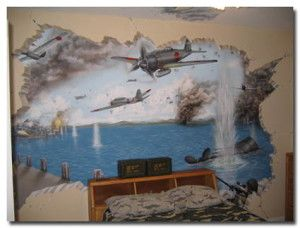 awesome Murals Wall For Kids Rooms Ideas