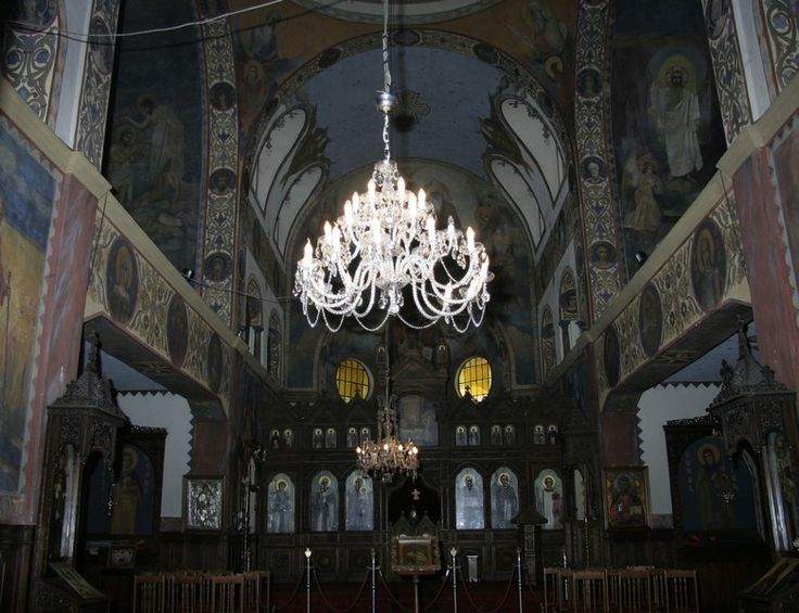 Wranovsky chandelier in Saint Nikolai Church in Bulgaria.