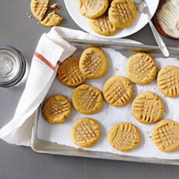 almond-butter cookies :: could be great for the lunchbox because recipe notes say it was also tested using nut-free butters
