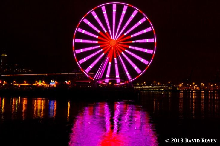the seattle great wheel on valentines day valentines day pinterest seattle