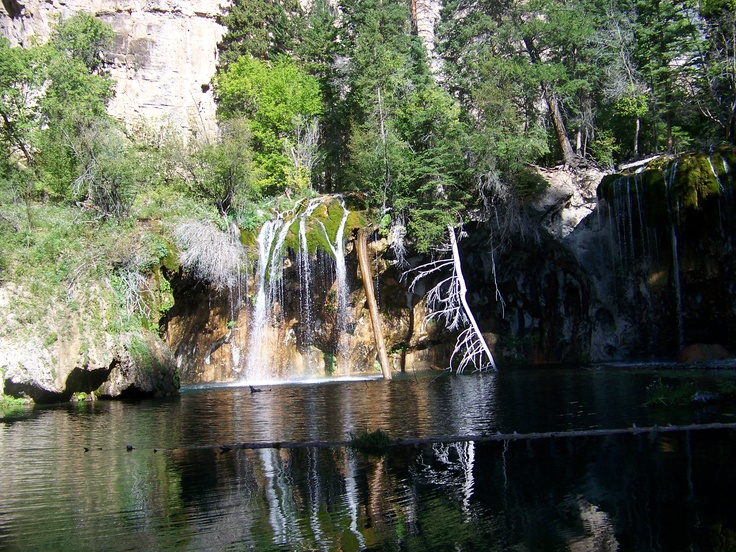 the beautiful Hanging Lake located half way between Eagle and Glenwood Springs, Colorado.