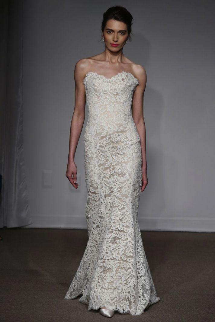 Traditional with a Twist: Spring 2014 Anna Maier Wedding Gowns   OneWed