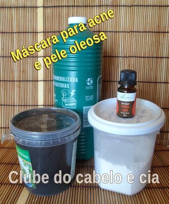 MÁSCARA DE CARVÃO PARA ACNE E PELE MUITO OLEOSA   Clube do cabelo e cia