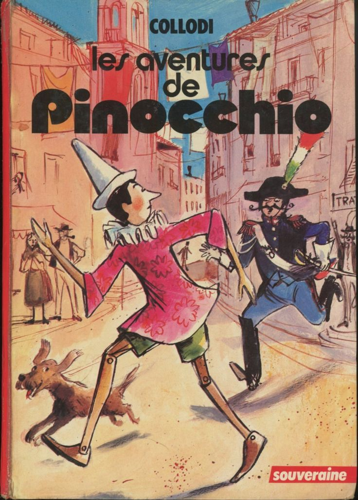 Jean Reschofsky - Rouge et Or Souveraine Carlo Collodi 1977