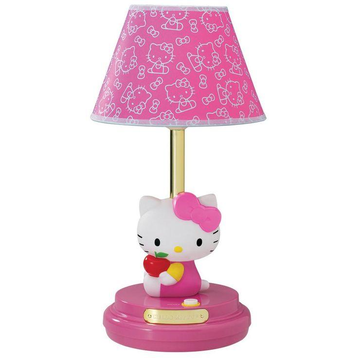 Hello Kitty Table Lamp- Pink
