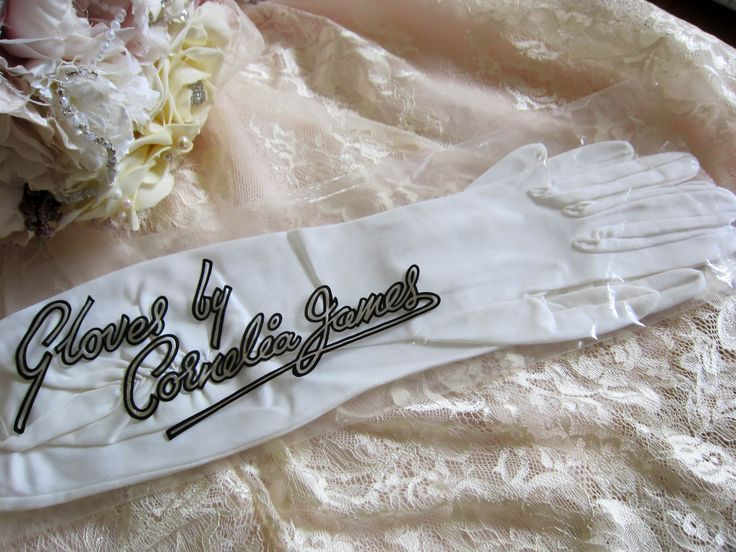 Vintage long length gloves, vintage wedding gloves, opera length gloves, Cornelia James gloves, white gloves, bridal gloves, vintage wedding by thevintagemagpie01 on Etsy