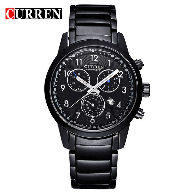 Top Men Watches Business Calender Casual Wristwatch Quartz Watch