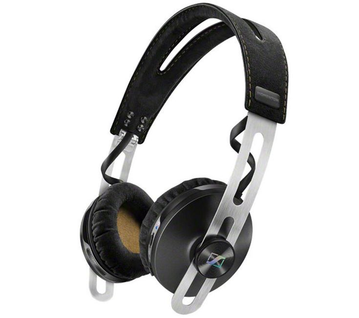 SENNHEISER  Momentum 2.0 O/E Wireless Bluetooth Noise-Cancelling Headphones - Black, Black Price: £ 265.00 With the on-ear Sennheiser Momentum 2.0 O/E Wireless Bluetooth Headphones you can enjoy wireless convenience and clean sound with active noise-cancelling technology, all in a top-quality black leather design. With noise-cancelling technology you'll be able to hear every note without...