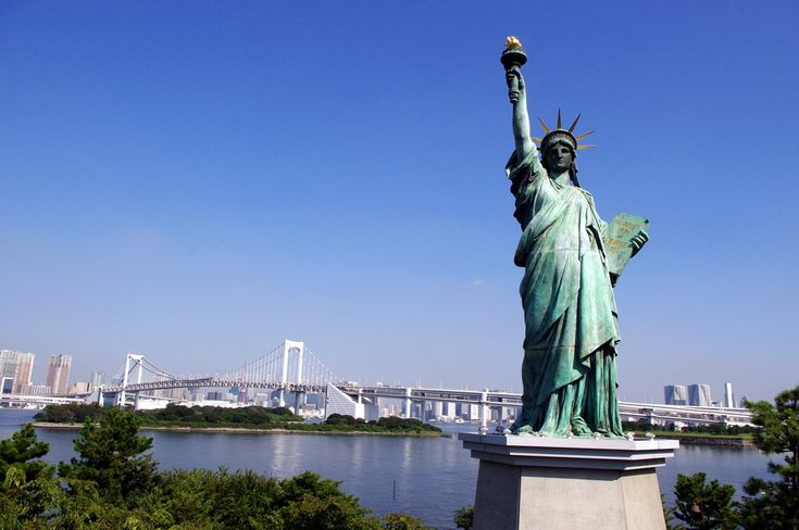 お台場 自由の女神 Statue of Liberty in Odaiba (4)