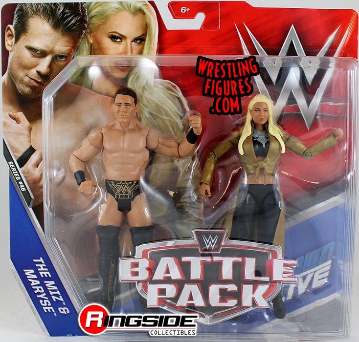 Miz & Maryse - WWE Battle Packs 46