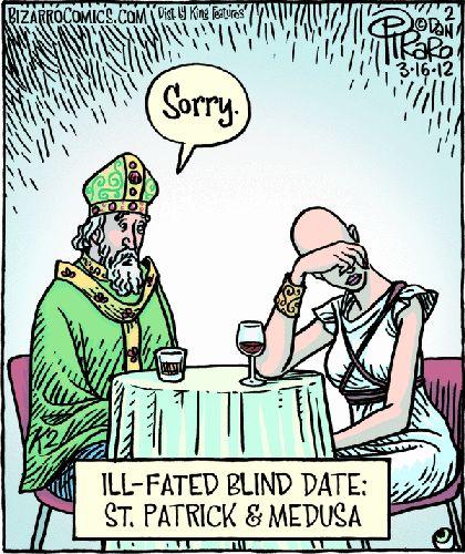 via allfunpix.com Vandaag is de feestdag van St. Patrick, de grote Engelse missionaris bisschop die het christelijke geloof tot Ierland bracht. Hier zijn een aantal leuke memes om je in de feestelijke geest.