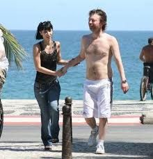 Image result for images of thom yorke and son noah yorke