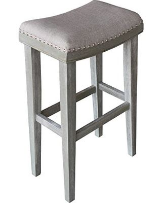 alk brands alk brands upholstered backless bar stool chairs blakeu0027s collections set of 2 from amazon